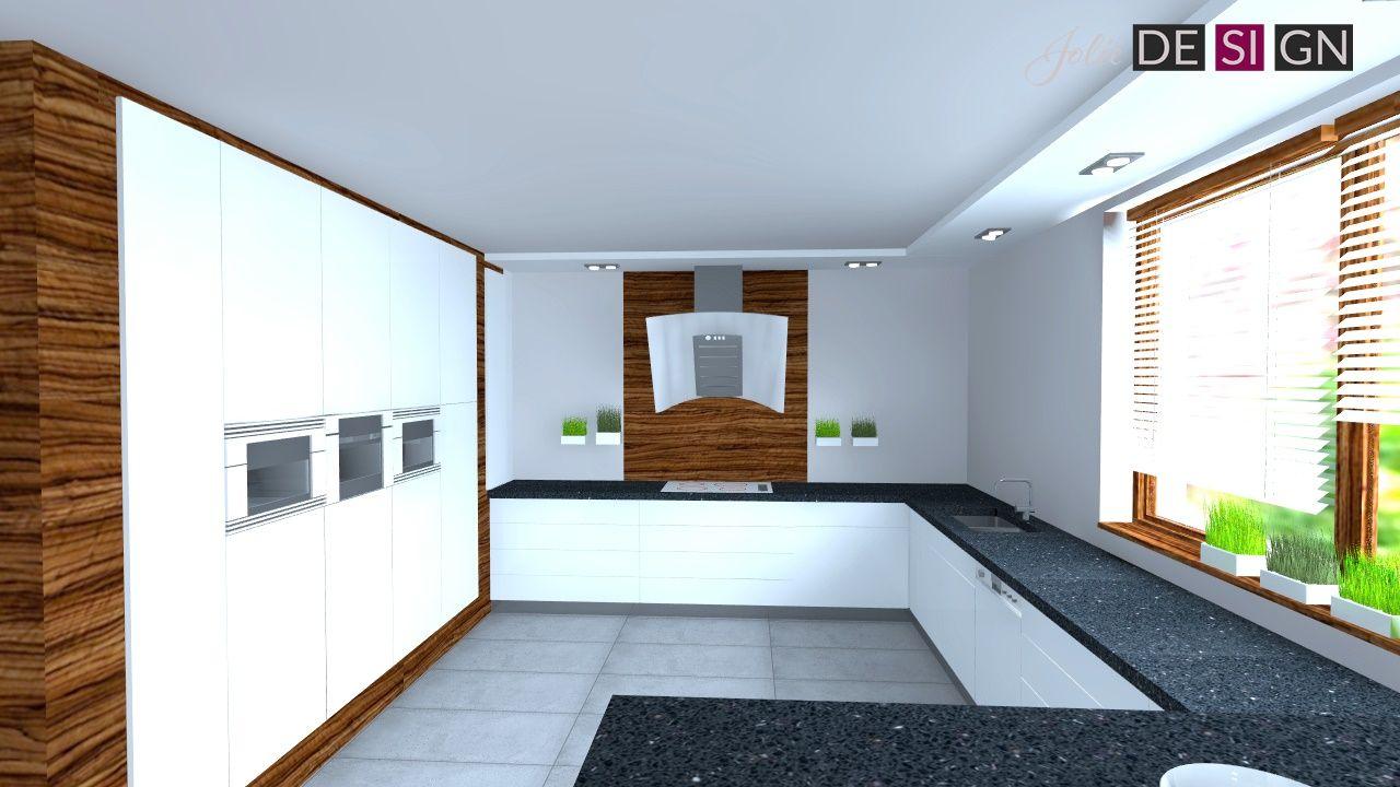 Projekt Kuchni Dom W żorach Jolie Design