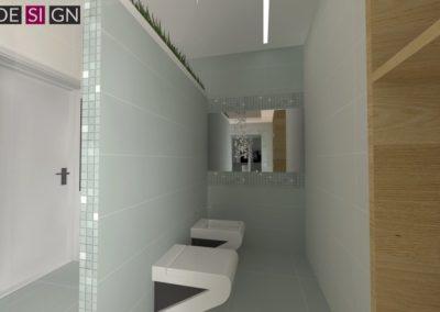 Łazienka - część z toaletą i bidetem