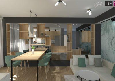 Projekt mieszkania w Cieszynie