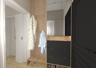 Projekt modernizacji parteru domu w Żorach
