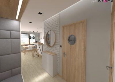 Projekt mieszkania w Żorach