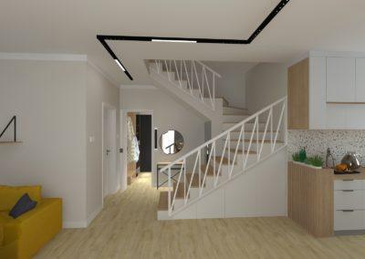 projekt klatki schodowej