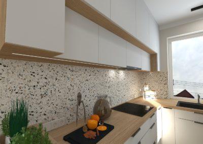 Projekt modernizacji wnętrza parteru domu w Żorach