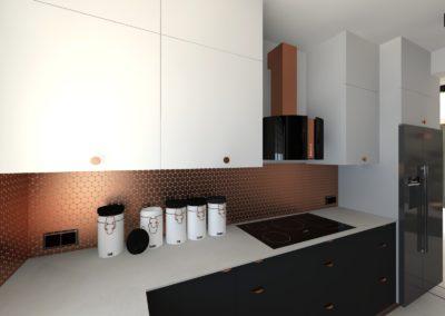 Projekt modernizacji parteru – dom z Żorach