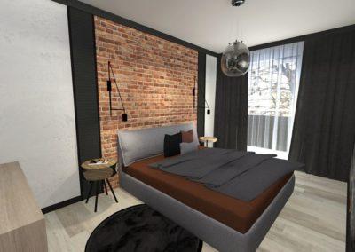 Projekt wnętrz – Mieszkanie w Żorach